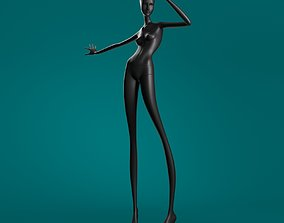 Mannequin 607 coll60 3D