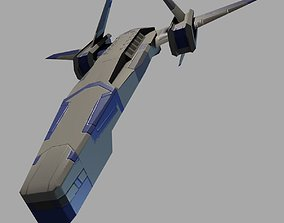 3D model game-ready StarShip