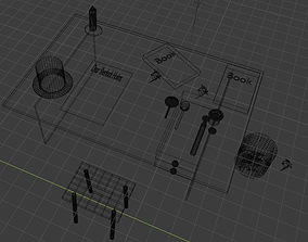3D model Sherlock Holms Industry Low Poly Asset Pack