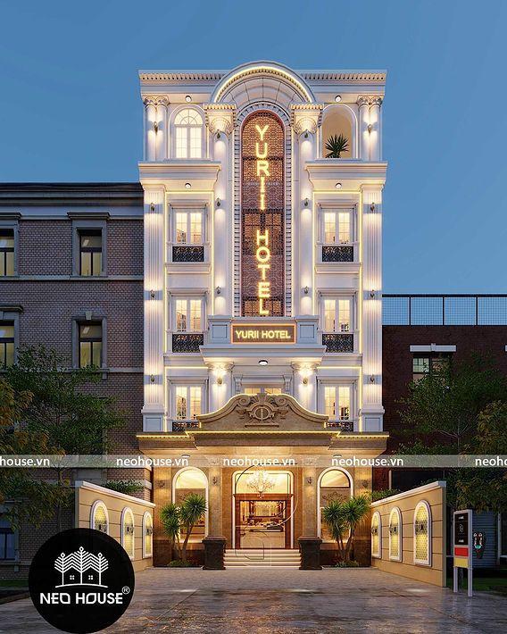 The design hotel five floors in Vietnam