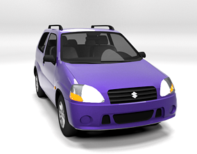 SUZUKI IGNIS 2001 3D LOWPOLY realtime