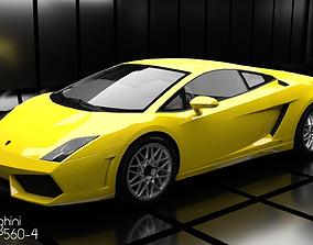 3D model Lamborghini Gallardo LP560-4