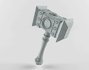 3D model Fantasy Hammer