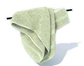 3D model Soft Green Towel