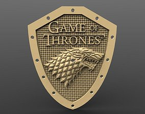 Clock Stark Game of thrones 3D print model