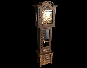 3D Grandfather Clock interior