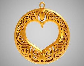 3D print model Circle Heart
