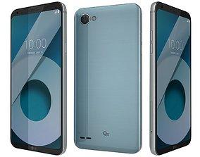 LG Q6 Ice Platinum 3D