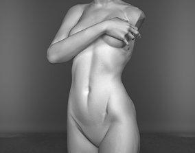 Torso Woman Sculpture 3D model