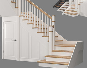 3D model Staircase with pantry