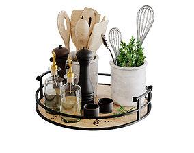 accessories 3D Kitchen Accessories Corona