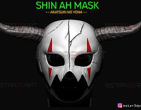 3D printable model Shin Ah Mask - Akatsuki No Yona 1