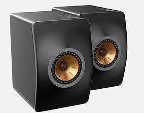 3D KEF LS50 speaker