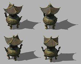3D model DynastyLushan-Censer 22