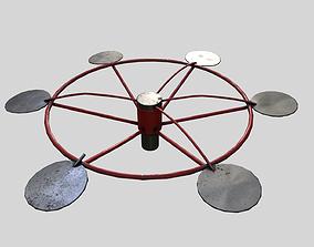 Old Carousel 3D model
