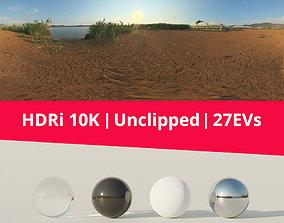 3D Hdri - Terrain And Greenhouses