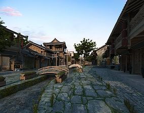 Old Chinese Streets 3D