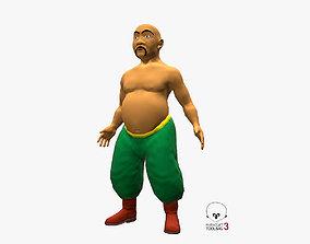 3D model Eastern Dude