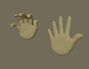 3D asset Hand model