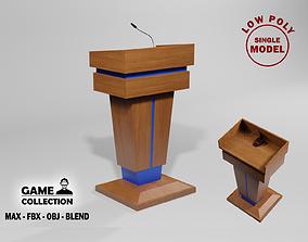 3D model Podium 3