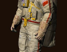 Russian Space Suit 3D model
