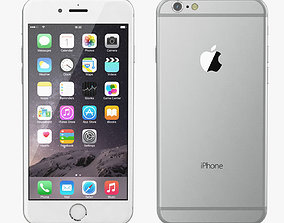 3D Apple iPhone 6 All Color