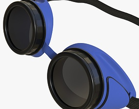 Protective glasses 02 2 3D