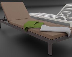 3D model Sun lounger