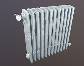 3D asset Heat Radiator Game Ready