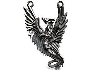 Dragon pendant 2 3D printable model