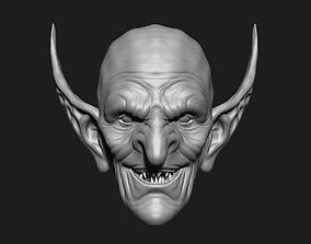 tolkien orc head 3d model