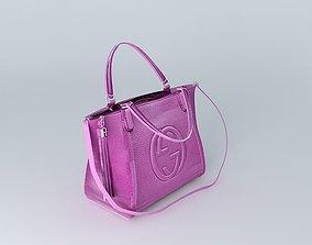 GUCCI Handbag 4 of 5 Colours 3D model