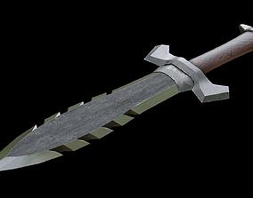 3D model Dagger Saw