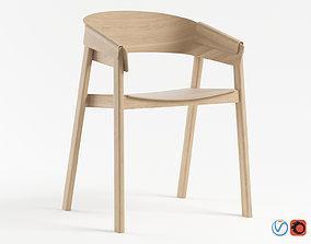 3D model Muuto Cover Chair interior