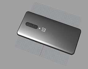 galaxy oneplus 7 pro black 3D Model 3D print model