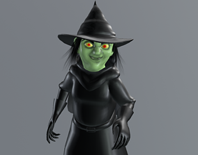 Witch - Bruja 3D model