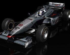 3D asset McLaren Mercedes MP412 F1 1997