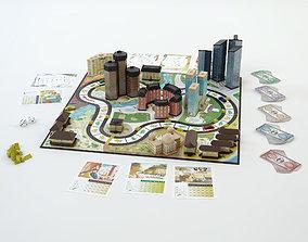 3D model Monopoly HOTEL