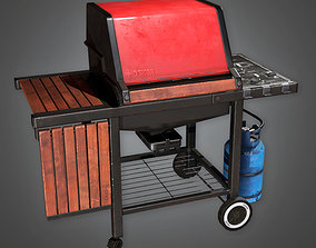 3D model TLS - Home Grill - PBR Game Ready