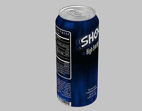3D model Shock Energy Drink Can