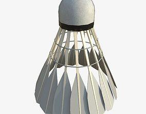 3D asset Badminton Shuttlecock