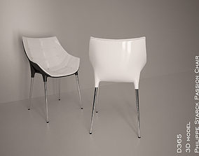 3d model passion chair philippe starck