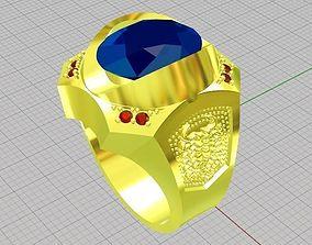 male scorpion ring 3D printable model