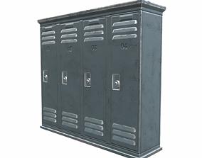 3D model Lockers - 02