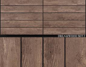 Yurtbay Seramik Dreamwood Set 2 3D model wall