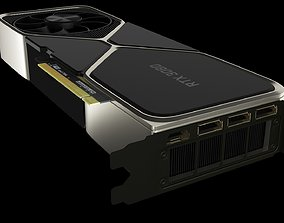 NVIDIA GEFORCE RTX 3080 3D model low-poly