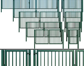 3D model Gate wicket fence