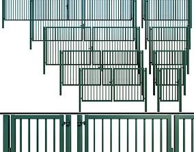 3D model Gate wicket fence