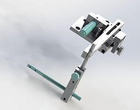 3D Fiber optic adjustment fixture