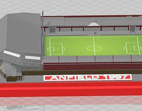 3D print model Liverpool - Anfield 1957 anfield1957